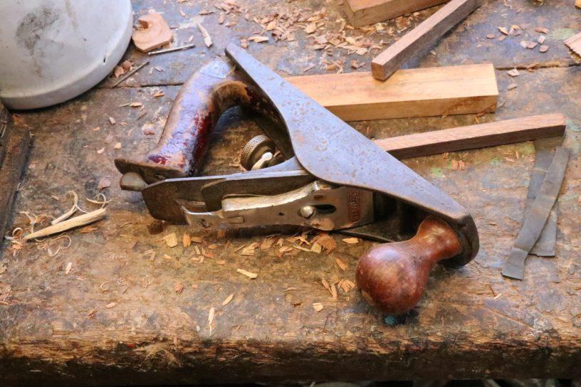 Hobelbank Holz